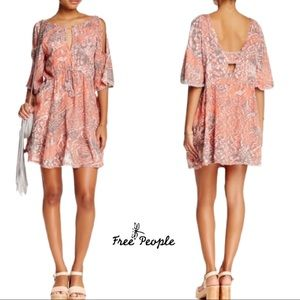 NWT- Free People love birds Clementine boho dress